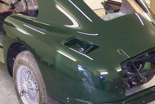 Aston Martin Back From Paint