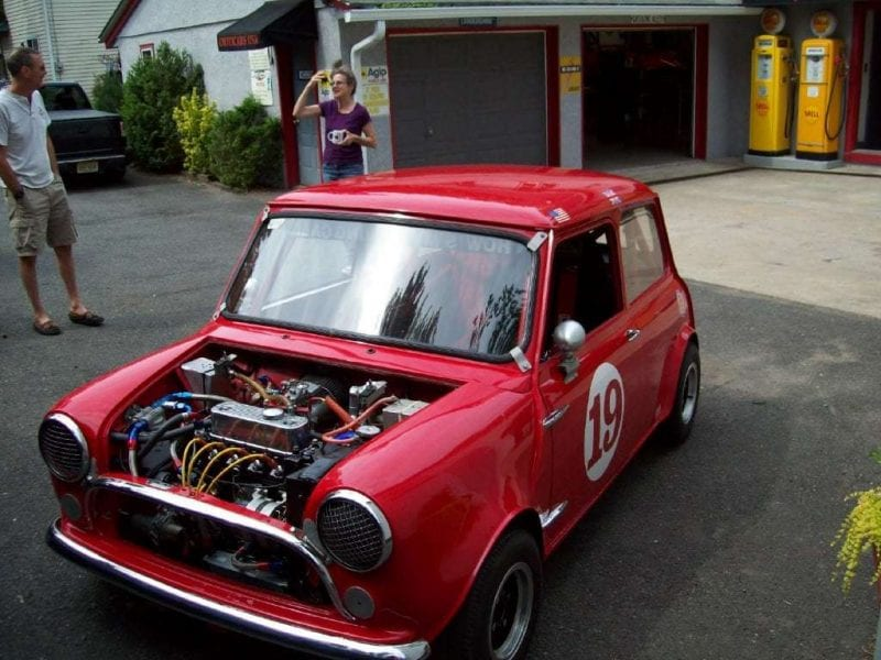 mini cooper racer
