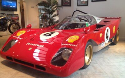 Ferrari vintage racing Dino 206s