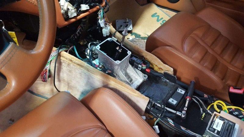Ferrari 575 with Ferrari manual transmission conversion
