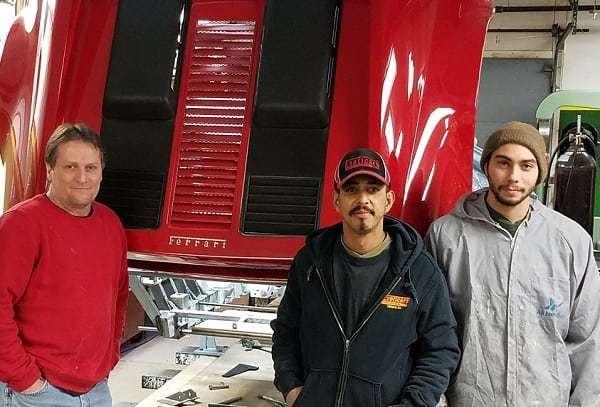 Autobody technicians Exoticars USA