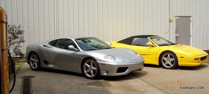 Ferrari F360 and F355 Spyder