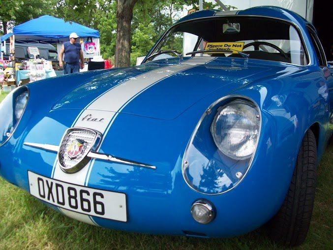 Fiat Abarth Zagato double bubble