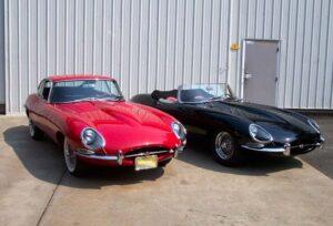 antique-jaguar-coupe-and-roadster