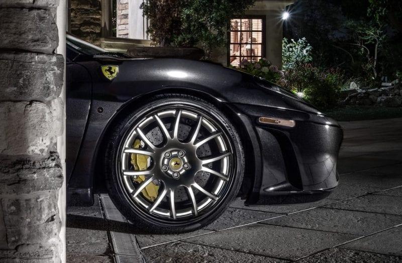 custom ferrari wheels