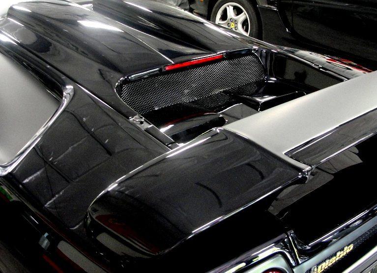 Lamborghini Diablo matte black rear