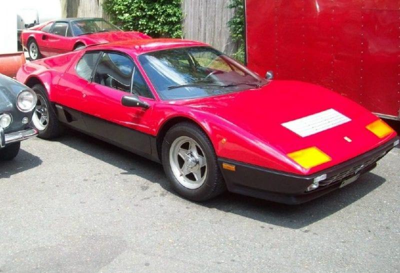 consignment sales Ferrari Boxer 512BBi
