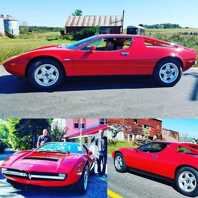 classic 1977 Maserati Merak SS complete restoration