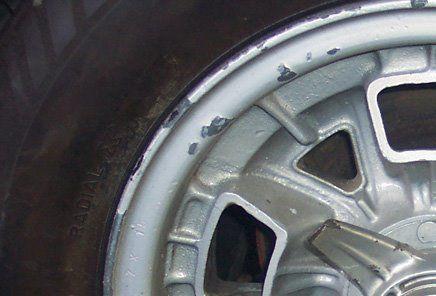 Miura wheel before refinishing