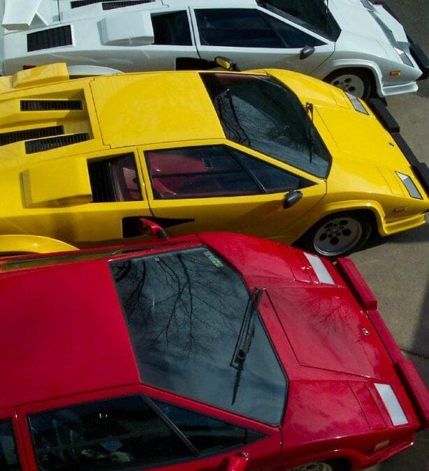 Happy 4th of July Lamborghini Countach