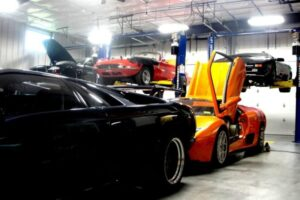 exoticars-new-facility-service-area